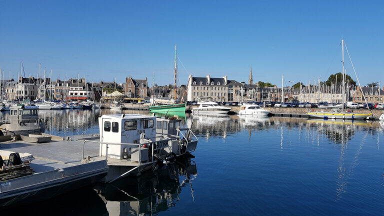 trip to the land of pink granite in Brittany