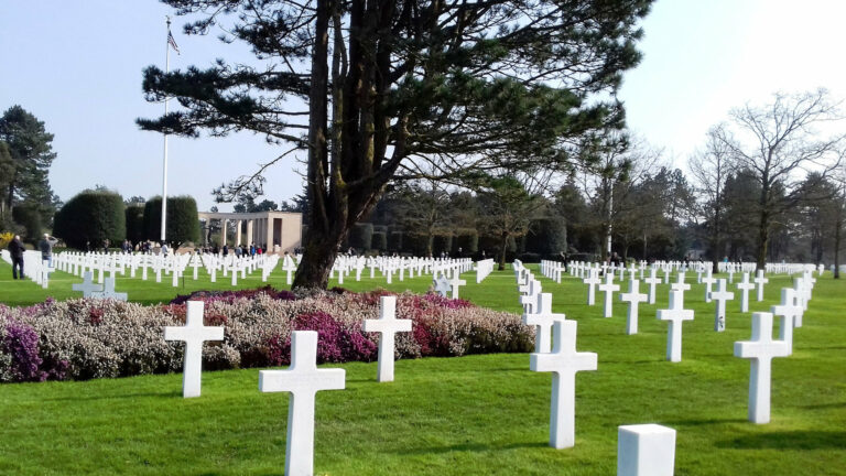 D-DAY American Cemetery of Colleville-sur-Mer by France DMC Alliance