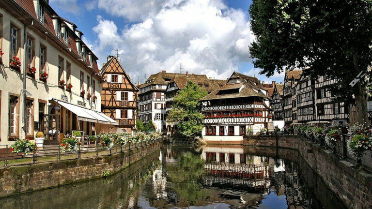 View of Strasbourg to explore with Magnific Escapades