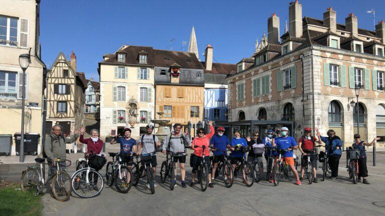 France à Vélo - Chablis