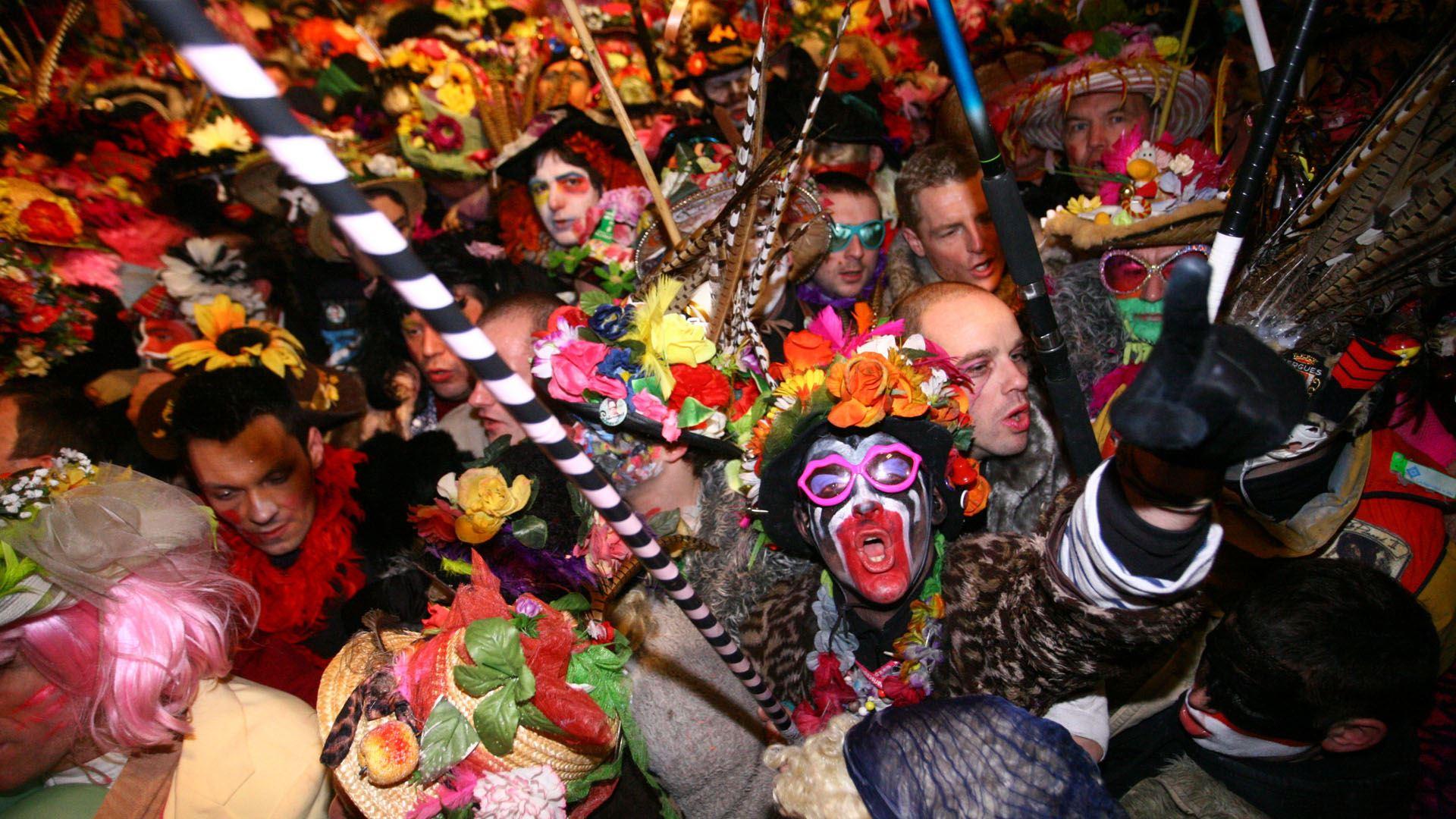 Carnavals de Dunkerque et Binche